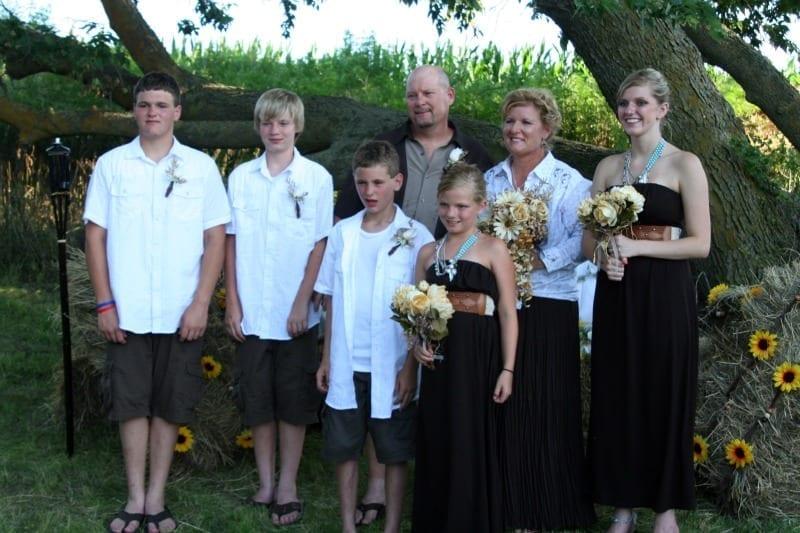 Outdoor Wedding in Central Nebraska
